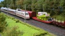 Trains miniatures à l'échelle H0: Trains de voyageurs et trains de marchandises - Une vidéo de Pilentum Télévision sur le modélisme ferroviaire avec des trains miniatures