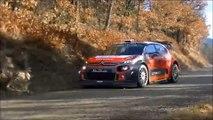 86 Rallye Monte-Carlo 2018 TEST (five car) - Monte-Carlo 2018 wrc tesztek 5 wrc-el