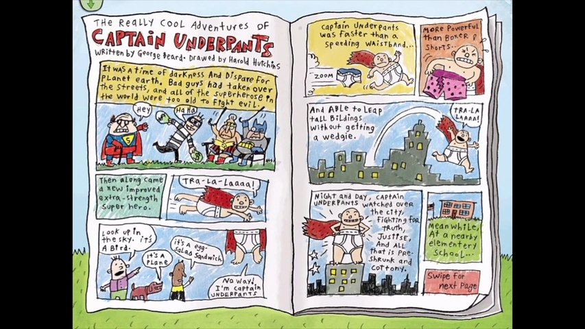 The Adventures Of Captain Underpants Chap 1 5 Video Dailymotion