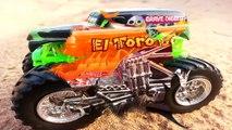 Тачки против Хот Вилс Царь Горы Мультик про машинки Монстер Трак Маквин Cars vs Hot Wheels