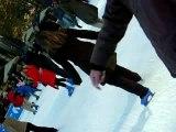 le ridicule ne tue pas...moi qui patine au Bryant Park