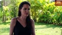 'Sempre seremos uma família', diz Angelina Jolie ao falar pela 1ª vez de divórcio com Brad Pitt