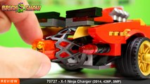 LEGO Ninjago X-1 Ninja Charger Review, Set 70727
