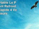 KLIM Wind Refroidisseur PC portable  Le Plus Puissant  Refroidissement Rapide  4