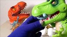 Ovos de dinossauro - cabeça de dinossauro- coleção de dinossauros miniaturas