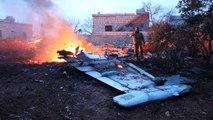 Rusya Açıkladı: İdlib'de Düşürülen Savaş Uçağı ABD Yapımı MANPAD Roketi ile Düşürüldü