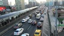 Yarıyıl Tatili Bitti, Trafik Yoğunluğu Arttı