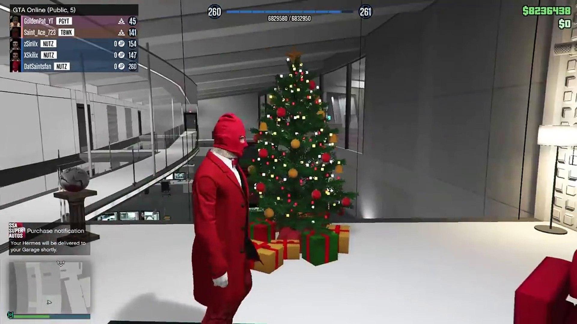 Gta 5 Christmas.Gta Online Free Christmas Gift Charging People Money Rockstar Giving Back Millions