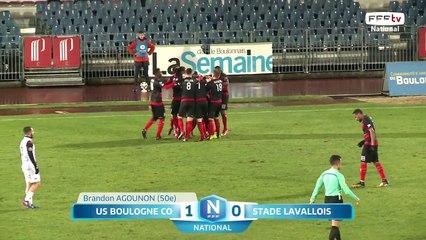 J20 US Boulogne CO - Stade Lavallois (1-0), le résumé