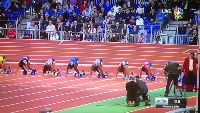 Athletisme : Murielle Ahouré remporte le meeting Millrose Games de New York en 7sec 11 devant la championne du monde Bowie