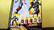 Iron Man 3 - Marvel Legends - Movie Iron Patriot Action Figure Review (Iron Monger Build-a-Figure)