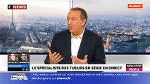 Le spécialiste des tueurs en série, Stéphane Bourgoin, raconte que sa compagne a été assassinée par... un tueur en série