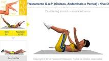 Treinamento G.A.P. (Glúteos, Abdominais e Pernas) - Nível 2