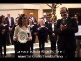 06-05-2014: BENEDICAT TIBI DOMINUS canta CORALE DON MILANI nella CHIESA DI SAN LUCA
