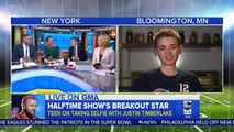 Découvrez comment ce jeune homme de 13 ans est devenu en 5 secondes cette nuit une star aux Etats-Unis