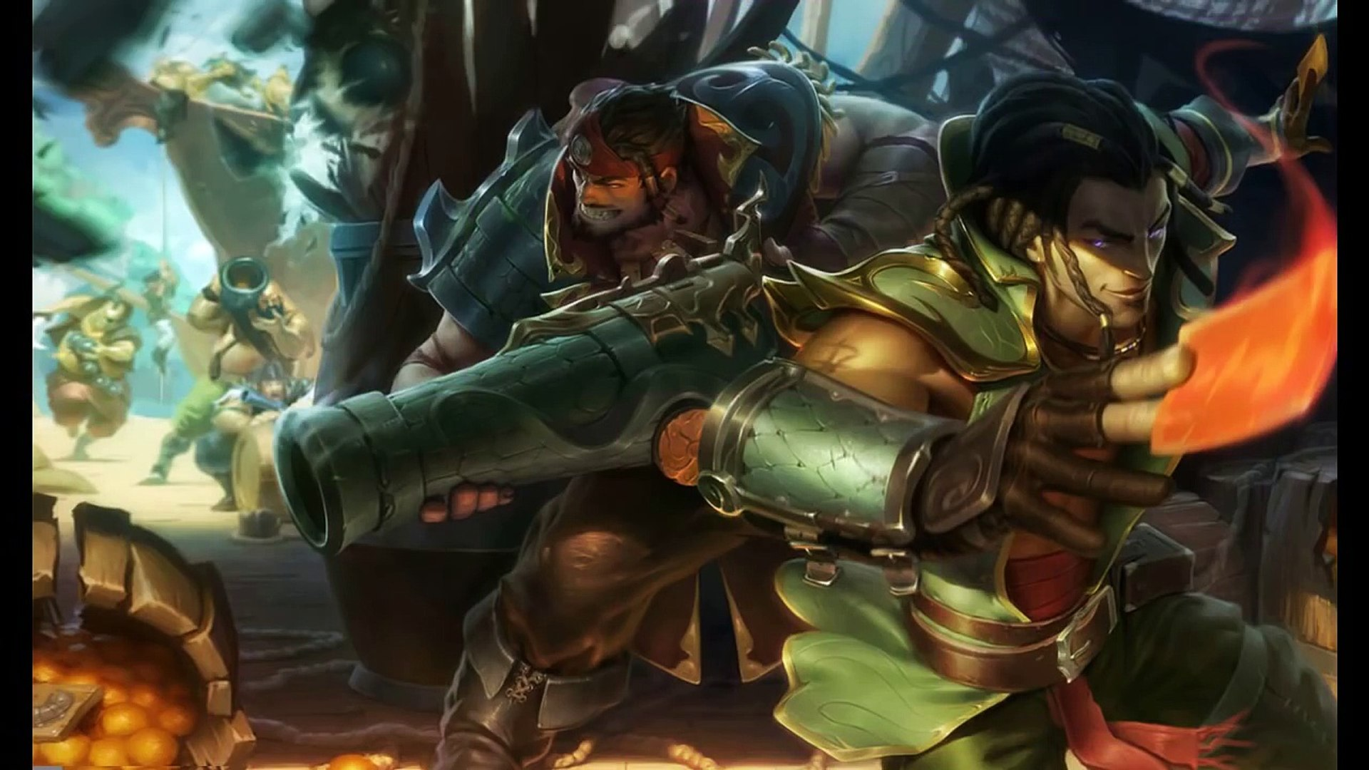Twisted Fate Punguista League Of Legends Completo Br Video
