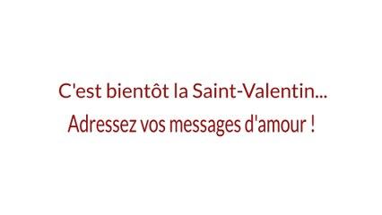 Saint-Valentin : envoyez vos messages à saint-valentin@pyrenees.com : ils seront publiés dans le journal le 14 février !