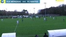 Gambardella : les buts de Merignac - FC Nantes