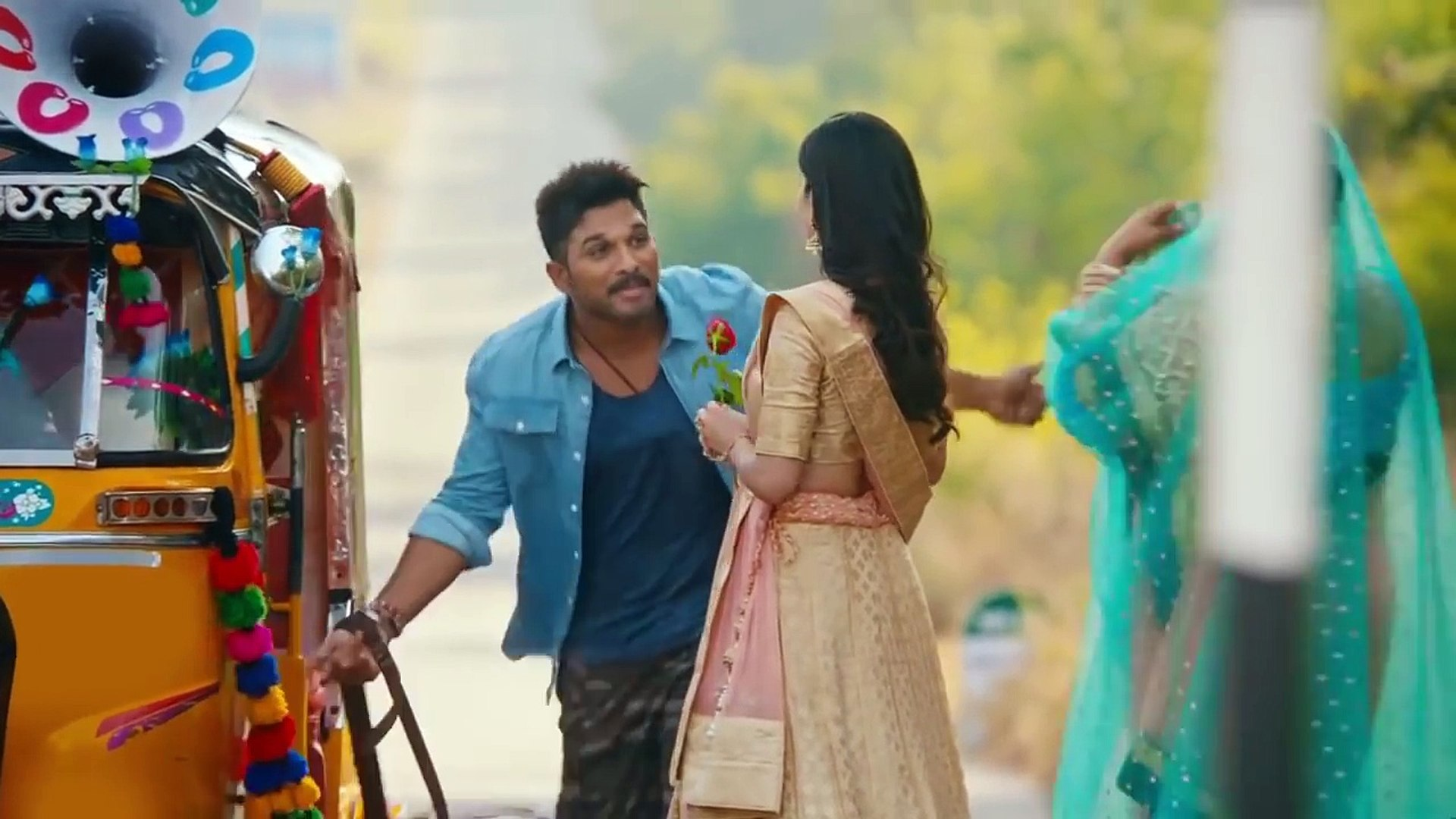 ALLU ARJUN New Movie Trailer 2018 -South Indian hindi dubbed movie trailer-Watch online play in mobi