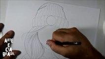 Como Desenhar Garota Estilo Tumblr Arteeciabrasil 1milhão