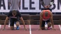 Meeting de Mondeville 2018 : Christophe Lemaitre en 6''57 sur 60 m