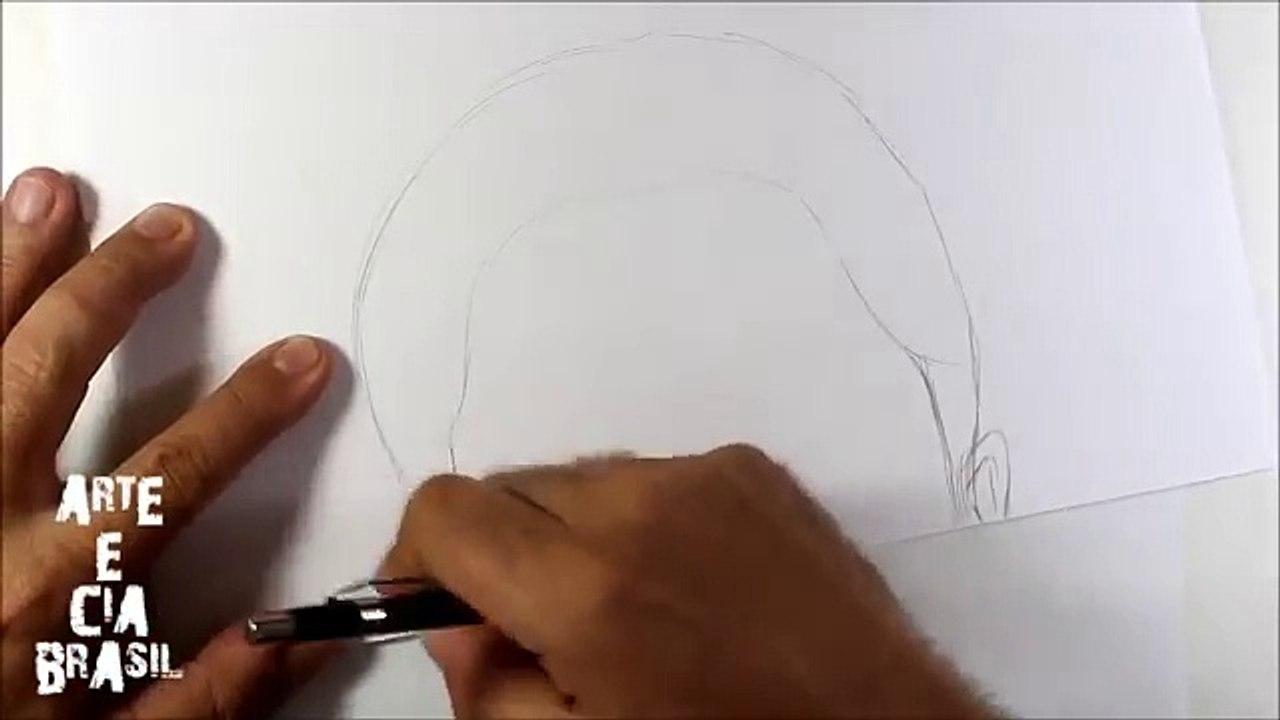 Como Desenhar Garota Estilo Tumblr 13