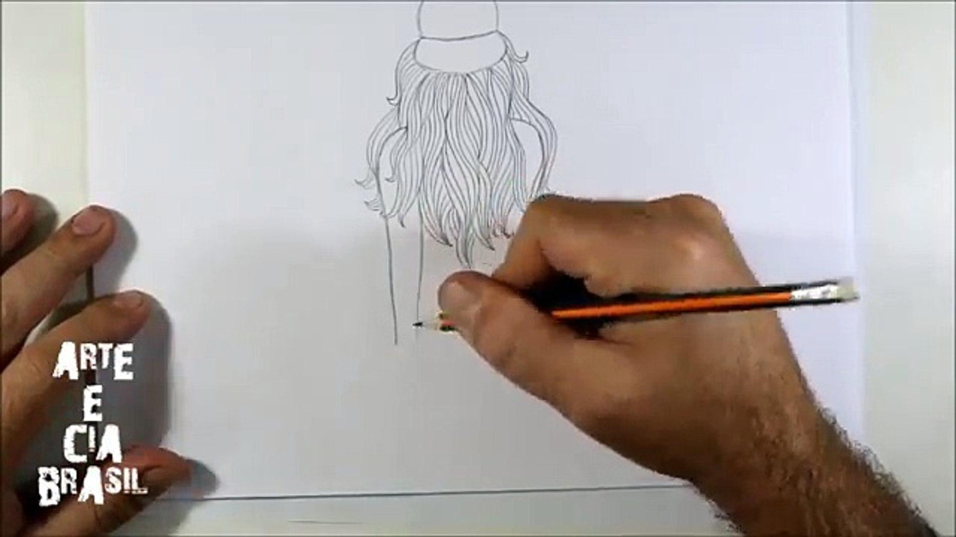 Como Desenhar Garota Tumblr Skatista Passo A Passo Video