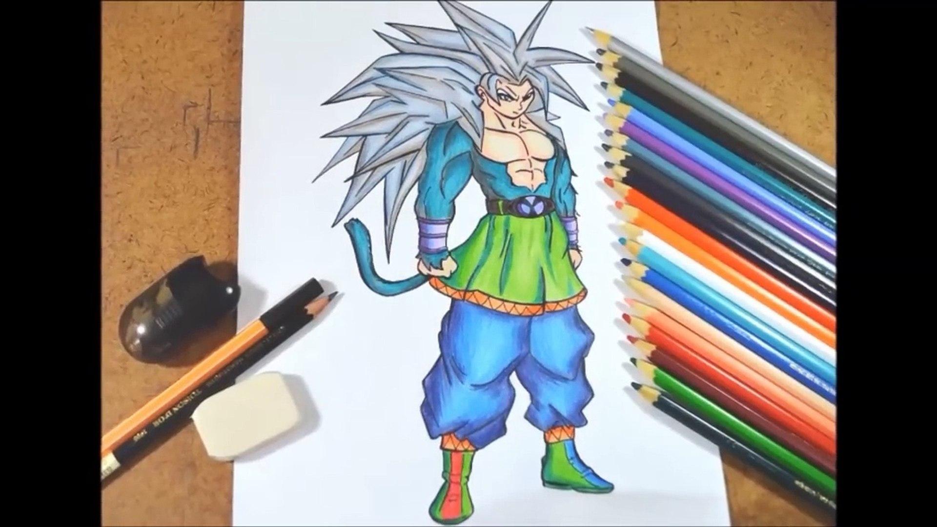 Goku Super Saiyan 5 Desenho E Dicas Para Colorir Video Dailymotion