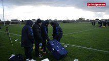 Ploufragan (22). Interview de  Lionel Rouxel, entraineur de l'équipe de France de football U 18