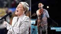 Super Bowl 2018  Justin Timberlake, P!nk & More Musical Moments ,  Billboard News