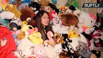 Stuffed Toy Story! This Arcade Aficionado Won Over 7,000 Stuffed Animals
