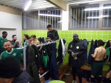 Seniors B : match à Champs FC vendredi soir 2 février, Victoire 2-1, buteurs : Léo et Julien. Fête dans le vestiaire