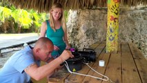 DPV Diving with Buddy Dive Bonaire