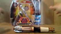 DOCTOR WHO 11th Doctors Sonic Screwdriver Toy Review | Votesaxon07
