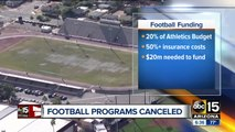 Maricopa colleges ending football programs