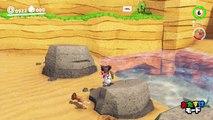 【マリオオデッセイの裏技⑭】海の国の高台にのれる?(犬バグ&時間停止バグ)