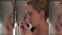 Super Bowl 2018 : Jennifer Lawrence se ridiculise dans un avion (Vidéo)