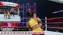 FULL MATCH - Nikki Bella vs Paige vs Naomi - Title Triple Threat Match- Elimination Chamber 2015