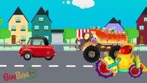 Good Mixer Truck against Evil Mixer Truck, Dump Truck and Evil Road Roller | Good vs Evil| BinBin Tv