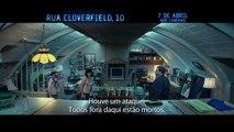 "Rua Cloverfield, 10 | Comercial de TV: ""Não a Deixe Entrar"" | Leg | Data | Paramount Brasil"