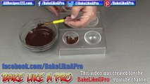 How To Make Chocolate Spheres Recipe By BakeLikeAPro