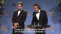 TNT | Leonardo DiCaprio e Alejandro Iñárritu no #GoldenGlobeNaTNT
