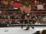 wwe raw Triple H & Jeff Hardy vs Umaga & Snitsky 26/11/2007