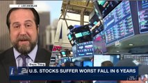 THE SPIN ROOM | U.S. stocks suffer worst fall in 6 years | Tuesday, February 6th 2018