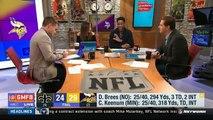 Minnesota Vikings defeat New Orleans Saints (29-24) NFC Divisional | Good Morning Football