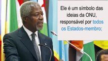 Secretário-geral da ONU: 'O trabalho mais impossível do mundo'