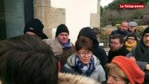 Saint-Quay-Perros (22). Des commerçants manifestent contre l'ouverture de Grand Frais
