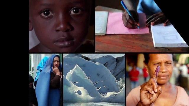 Resumo semanal da ONU em imagens #77