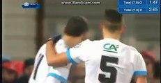 Lucas Ocampos Goal HD - Bourg Peronnas 0-7 Marseille 06.02.2018