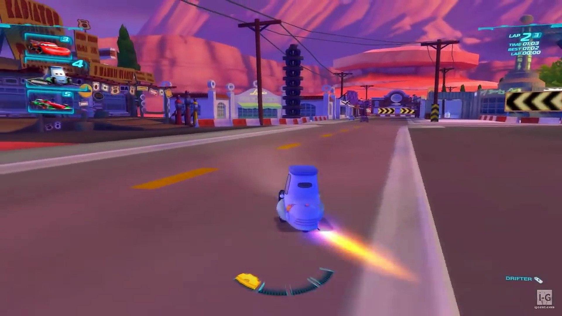 Disney Pixar Cars 2 Guido Gameplay HD